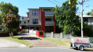 Red & White Large Residential Exterior Paint Job - Residential Painting Brisbane, Gold Coast & Sunshine Coast