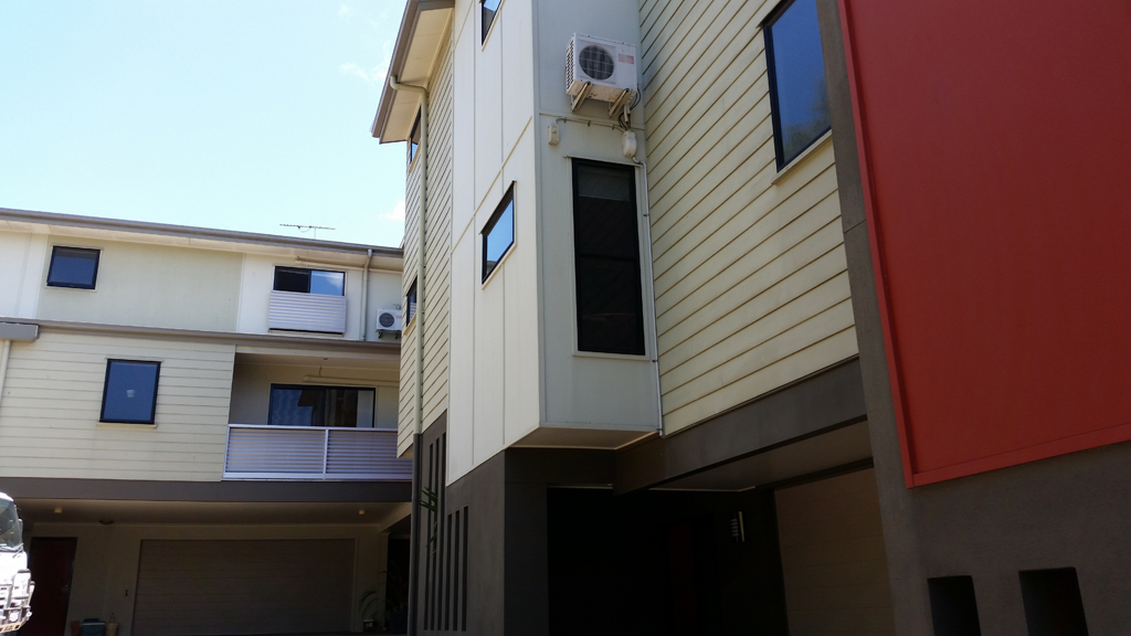 Complete Large Painted Building - Residential Painting Brisbane, Gold Coast & Sunshine Coast
