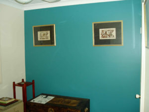Beautiful Teal Internal Wall - Residential Painting Brisbane, Gold Coast & Sunshine Coast
